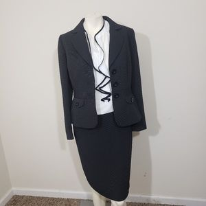 Tahari pinstripe suit set